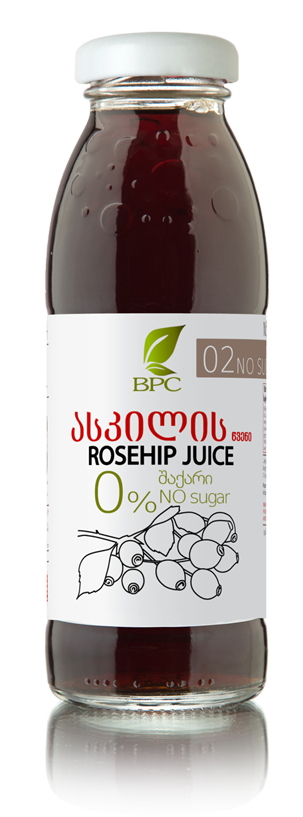 Rosehip Juice with STEVIA 02